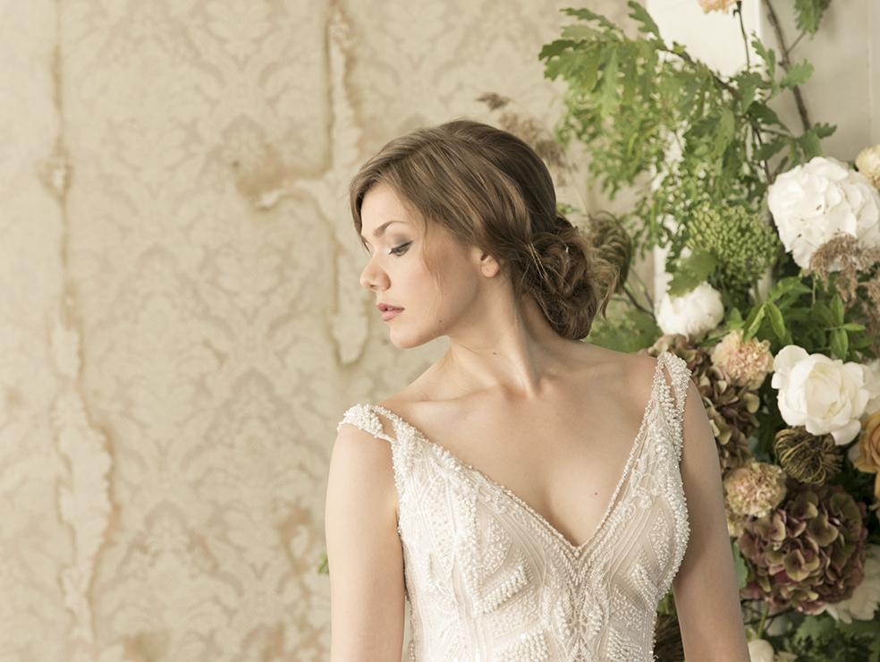 morsiamen puku Vieno Bridal - yrittäjyys