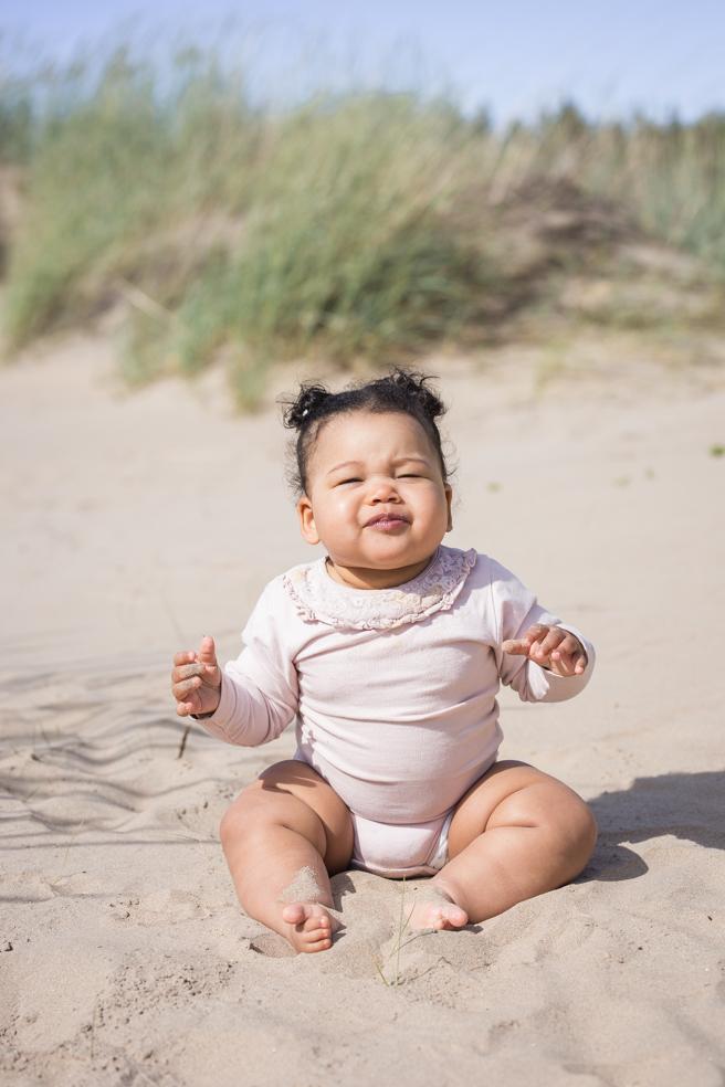 lapsikuvaus rannalla